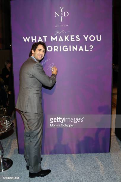 Singer Josh Groban attends Variety Power Of Women New York presented by FYI at Cipriani 42nd Street on April 25 2014 in New York City