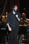 Singer Josh Groban performs on stage at Nikon at Jones Beach Theater on July 22 2016 in Wantagh New York