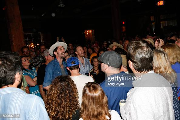 Singer Josh Jenkins of Green River Ordinance performs during the 17th Annual Americana Music Festival at Mercy Lounge on September 21 2016 in...