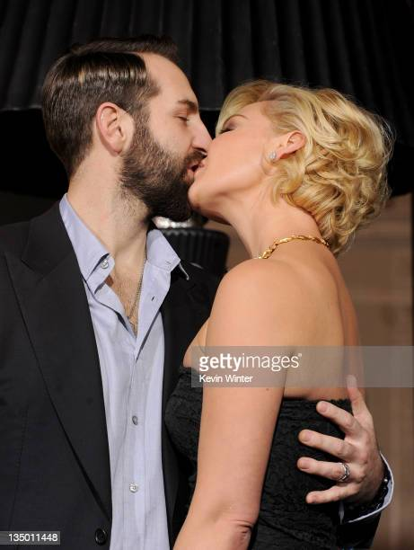 Singer Josh Kelley and actress Katherine Heigl arrive at the premiere of Warner Bros Pictures' 'New Year's Eve' at Grauman's Chinese Theatre on...