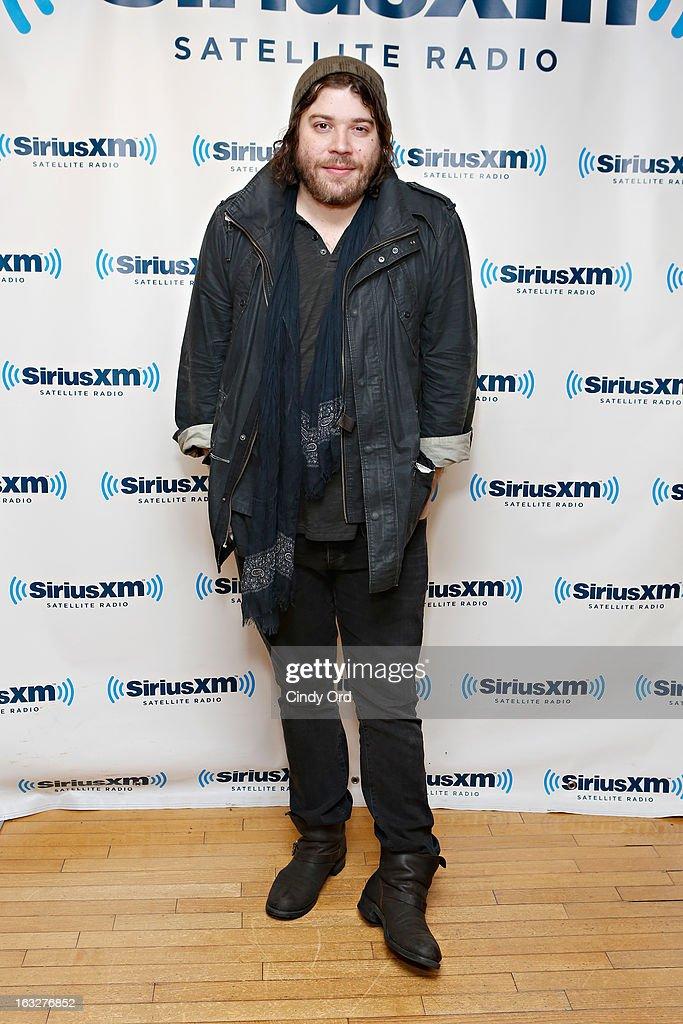 Singer Josh Krajcik visits the SiriusXM Studios on March 6, 2013 in New York City.