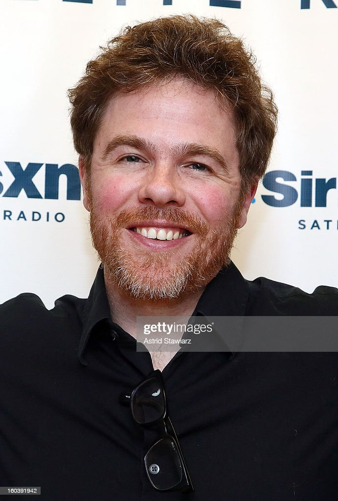 Singer Josh Ritter visits the SiriusXM Studios on January 30, 2013 in New York City.