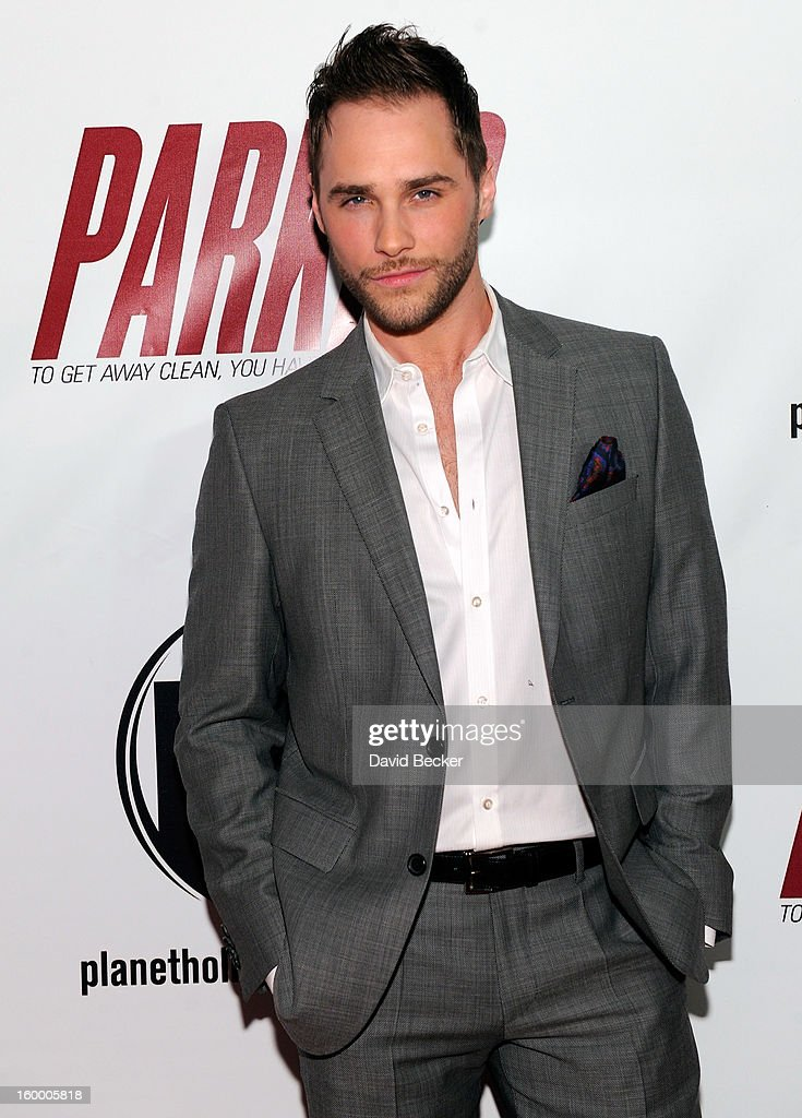 Singer <a gi-track='captionPersonalityLinkClicked' href=/galleries/search?phrase=Josh+Strickland&family=editorial&specificpeople=542117 ng-click='$event.stopPropagation()'>Josh Strickland</a> arrives at the premiere of FilmDistrict's 'Parker' at Planet Hollywood Resort & Casino on January 24, 2013 in Las Vegas, Nevada.