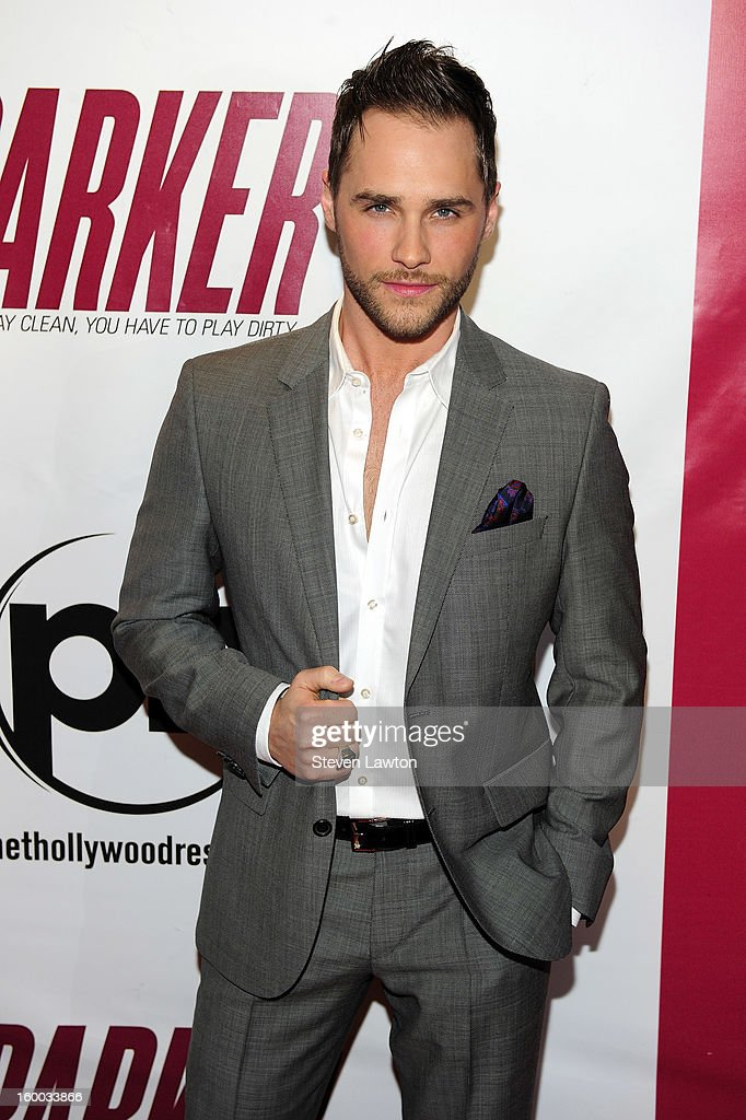 Singer <a gi-track='captionPersonalityLinkClicked' href=/galleries/search?phrase=Josh+Strickland&family=editorial&specificpeople=542117 ng-click='$event.stopPropagation()'>Josh Strickland</a> arrives for the premiere of FlimDistrict's 'Parker' at the Planet Hollywood Resort & Casino on January 24, 2013 in Las Vegas, Nevada.