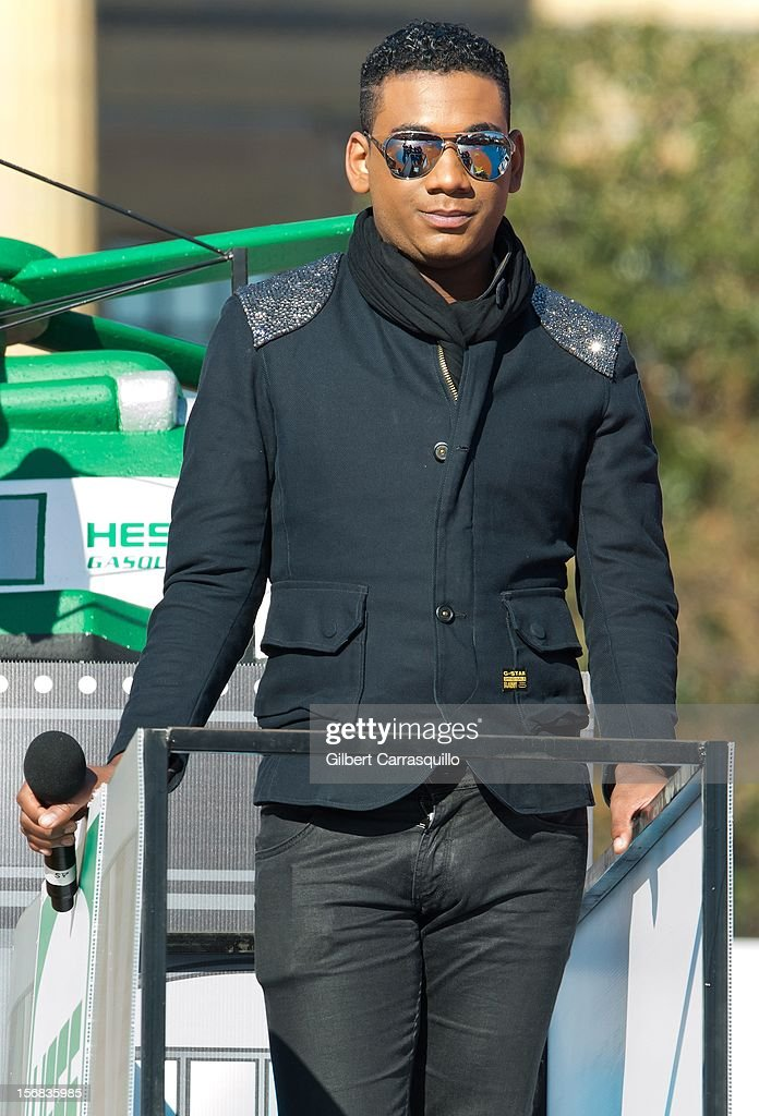 Singer Joshua Ledet attends the 93rd annual Dunkin' Donuts Thanksgiving Day Parade on November 22, 2012 in Philadelphia, Pennsylvania.