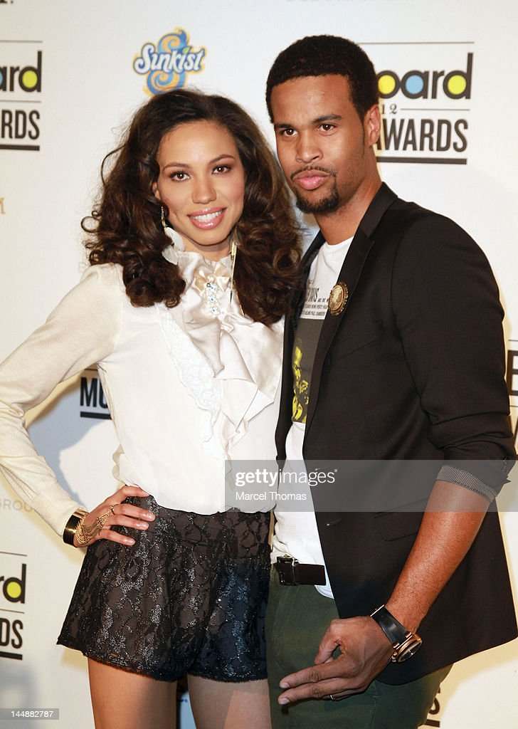 Singer Josiah Bell and wife actress Jurnee Smollett attend the Billboard Music Awards Pre-Party hosted by Kelly Clarkson at MGM Grand on May 19, 2012 in Las Vegas, Nevada.