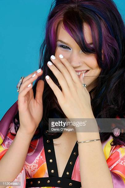 Singer Joss Stone at the Concert For Diana 2007