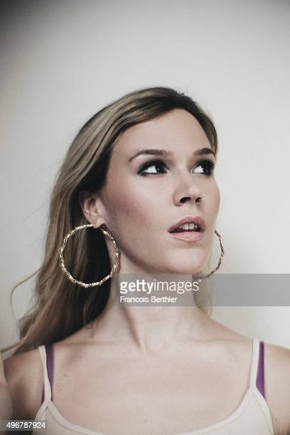 Singer Joss Stone is photographed for Self Assignment on September 15 2015 in Paris France