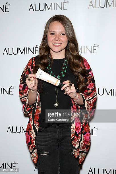Singer Joy Huerta of Jesse Joy attends the gift lounge during the 16th Latin GRAMMY Awards at the MGM Grand Garden Arena on November 17 2015 in Las...