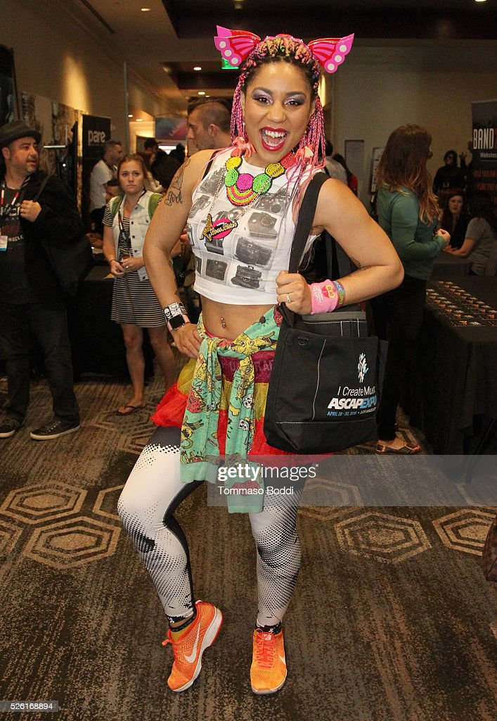 Singer <a gi-track='captionPersonalityLinkClicked' href=/galleries/search?phrase=Joy+Villa&family=editorial&specificpeople=9755362 ng-click='$event.stopPropagation()'>Joy Villa</a> attends the 2016 ASCAP 'I Create Music' EXPO on April 29, 2016 in Los Angeles, California.