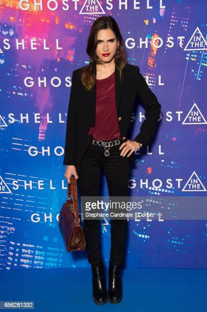 Singer Joyce Jonathan attends the Paris Premiere of the Paramount Pictures release 'Ghost In The Shell' at Le Grand Rex on March 21 2017 in Paris...