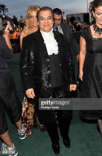 Singer Juan Gabriel attends the 10th Annual Latin GRAMMY Awards held at the Mandalay Bay Events Center on November 5 2009 in Las Vegas Nevada