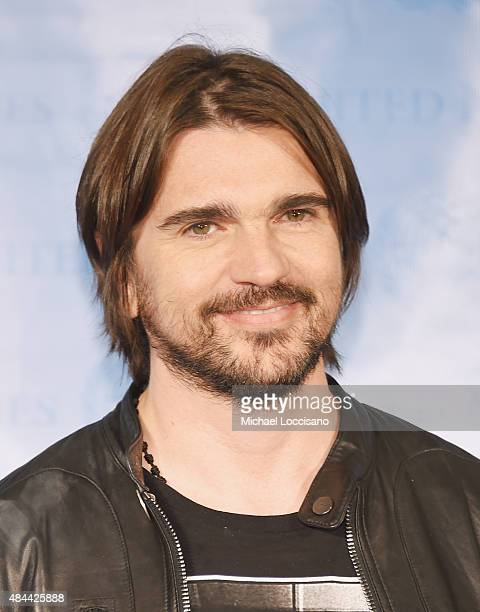 Singer Juanes attends 2015 World Humanitarian Day at the United Nations on August 18 2015 in New York City