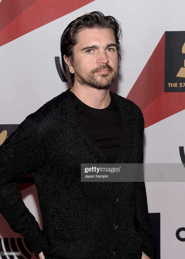 Singer <a gi-track='captionPersonalityLinkClicked' href=/galleries/search?phrase=Juanes&family=editorial&specificpeople=202467 ng-click='$event.stopPropagation()'>Juanes</a> attends Red Carpet Radio, Backstage at the GRAMMYs presented by Westwood One during The 57th Annual GRAMMY Awards at the Staples Center on February 6, 2015 in Los Angeles, California.