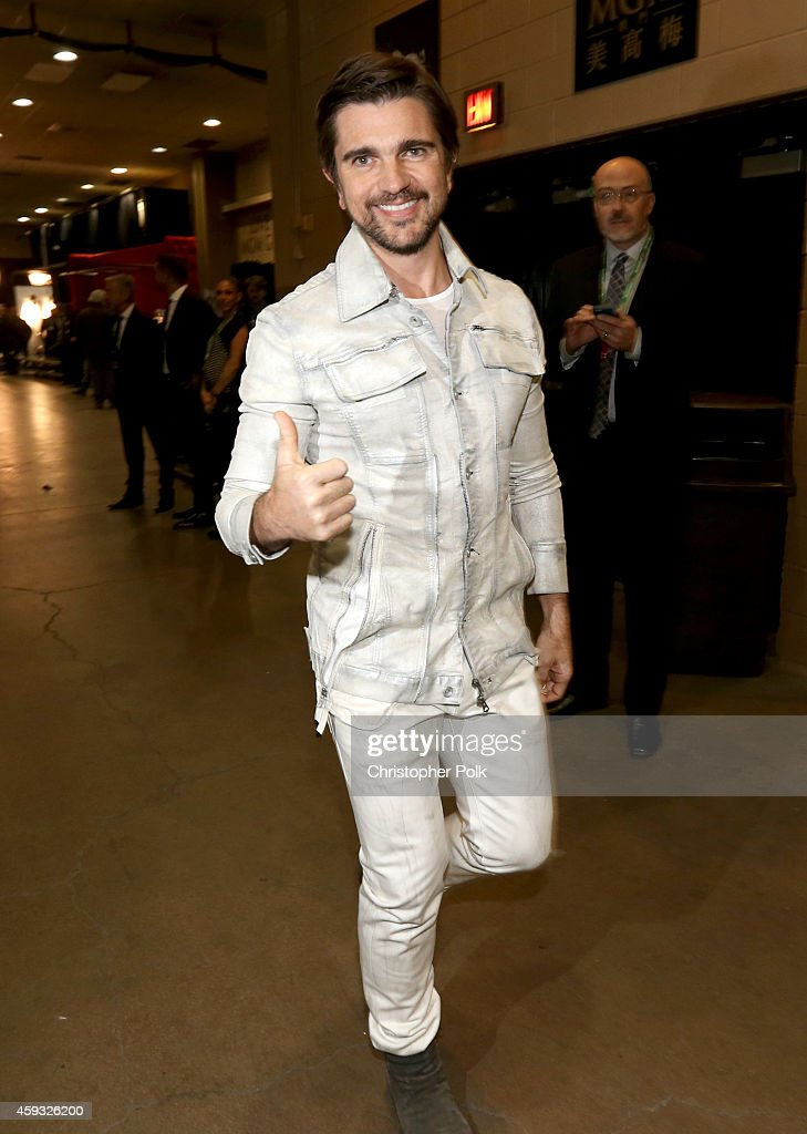 Singer <a gi-track='captionPersonalityLinkClicked' href=/galleries/search?phrase=Juanes&family=editorial&specificpeople=202467 ng-click='$event.stopPropagation()'>Juanes</a> attends the 15th Annual Latin GRAMMY Awards at the MGM Grand Garden Arena on November 20, 2014 in Las Vegas, Nevada.