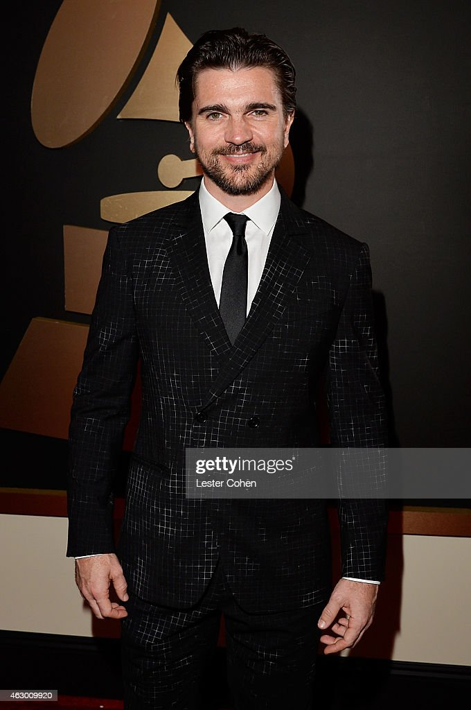 Singer <a gi-track='captionPersonalityLinkClicked' href=/galleries/search?phrase=Juanes&family=editorial&specificpeople=202467 ng-click='$event.stopPropagation()'>Juanes</a> attends The 57th Annual GRAMMY Awards at the STAPLES Center on February 8, 2015 in Los Angeles, California.