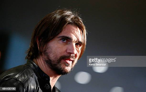 Singer Juanes attends the commemoration of 2015 World Humanitarian Day at the UN Headquarters on August 18 2015 in New York CIty