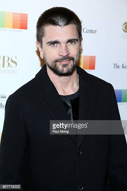 Singer Juanes poses for a photo on the red carpet at the 39th Annual Kennedy Center Honors at The Kennedy Center on December 4 2016 in Washington DC