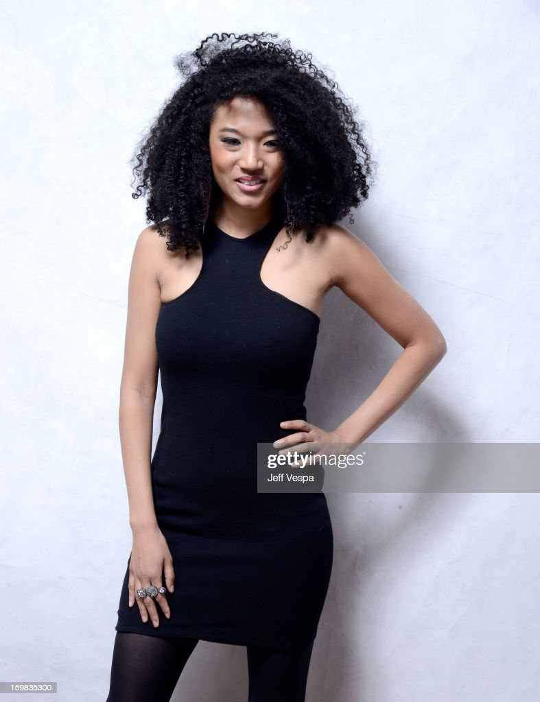 Singer <a gi-track='captionPersonalityLinkClicked' href=/galleries/search?phrase=Judith+Hill&family=editorial&specificpeople=5964031 ng-click='$event.stopPropagation()'>Judith Hill</a> poses for a portrait during the 2013 Sundance Film Festival at the WireImage Portrait Studio at Village At The Lift on January 21, 2013 in Park City, Utah.