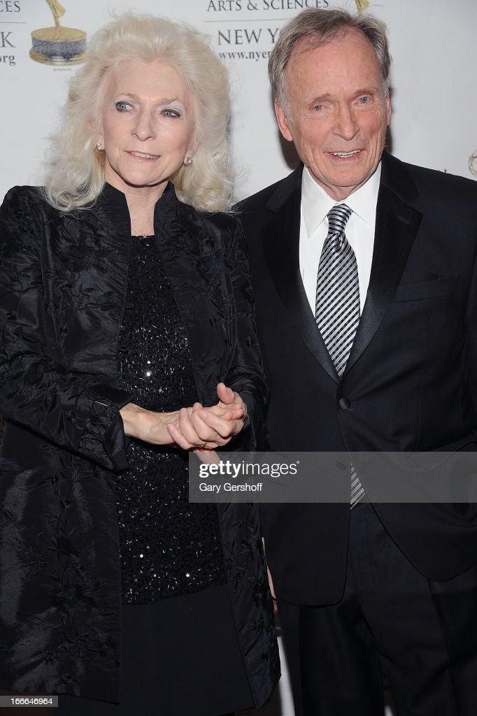 Singer <a gi-track='captionPersonalityLinkClicked' href=/galleries/search?phrase=Judy+Collins&family=editorial&specificpeople=208225 ng-click='$event.stopPropagation()'>Judy Collins</a> and former talk show host <a gi-track='captionPersonalityLinkClicked' href=/galleries/search?phrase=Dick+Cavett&family=editorial&specificpeople=217287 ng-click='$event.stopPropagation()'>Dick Cavett</a> attend the 56th Annual New York Emmy Awards at Marriott Marquis Times Square on April 14, 2013 in New York City.
