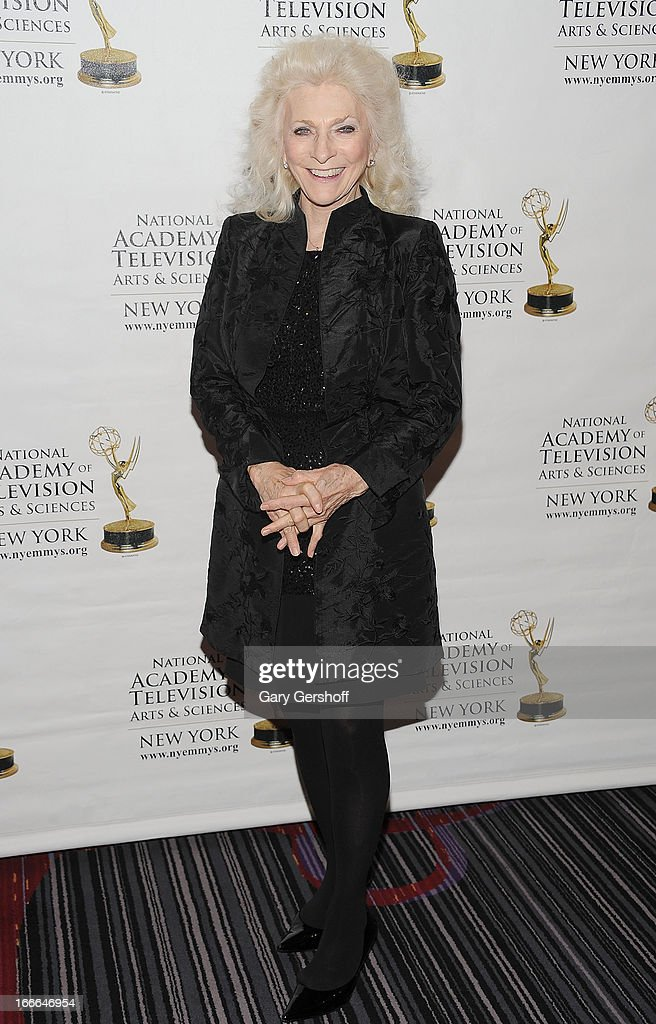 Singer Judy Collins attends the 56th Annual New York Emmy Awards at Marriott Marquis Times Square on April 14, 2013 in New York City.