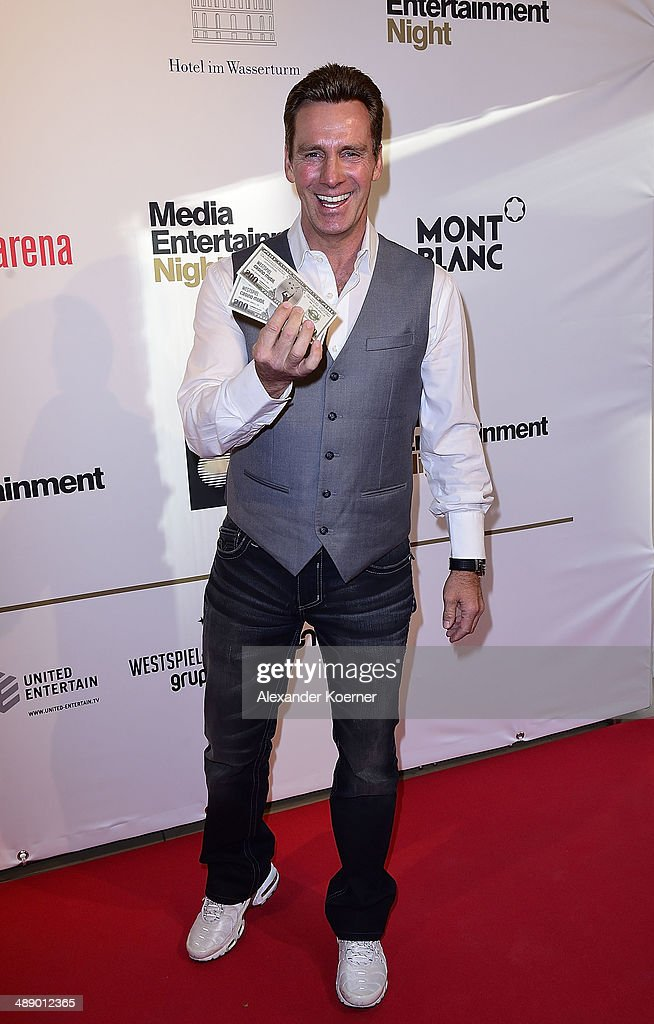 Singer Juergen Walter attends the Media Entertainment Night at Hotel im Wasserturm on May 9, 2014 in Cologne, Germany.