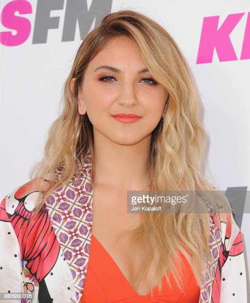 Singer Julia Michaels arrives at 1027 KIIS FM's 2017 Wango Tango at StubHub Center on May 13 2017 in Carson California