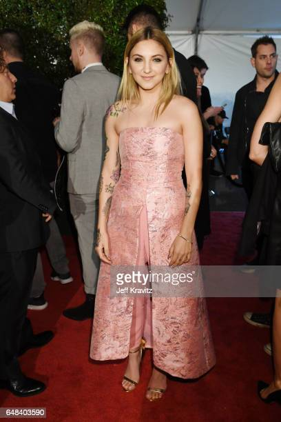 Singer Julia Michaels attends the 2017 iHeartRadio Music Awards which broadcast live on Turner's TBS TNT and truTV at The Forum on March 5 2017 in...