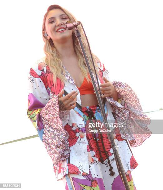 Singer Julia Michaels performs at 1027 KIIS FM's 2017 Wango Tango at StubHub Center on May 13 2017 in Carson California