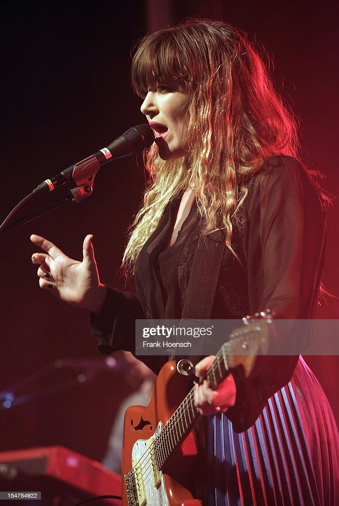 Singer <a gi-track='captionPersonalityLinkClicked' href=/galleries/search?phrase=Julia+Stone&family=editorial&specificpeople=4056415 ng-click='$event.stopPropagation()'>Julia Stone</a> performs live during a concert at the Postbahnhof on October 25, 2012 in Berlin, Germany.