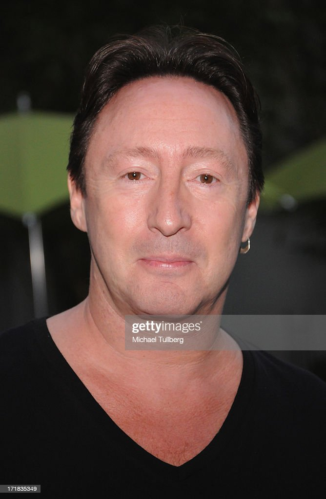 Singer <a gi-track='captionPersonalityLinkClicked' href=/galleries/search?phrase=Julian+Lennon&family=editorial&specificpeople=211480 ng-click='$event.stopPropagation()'>Julian Lennon</a> attends an exhibition of photographer Pattie Boyd's photographs entitled 'Pattie Boyd: Newly Discovered' at Morrison Hotel Gallery on June 28, 2013 in West Hollywood, California.