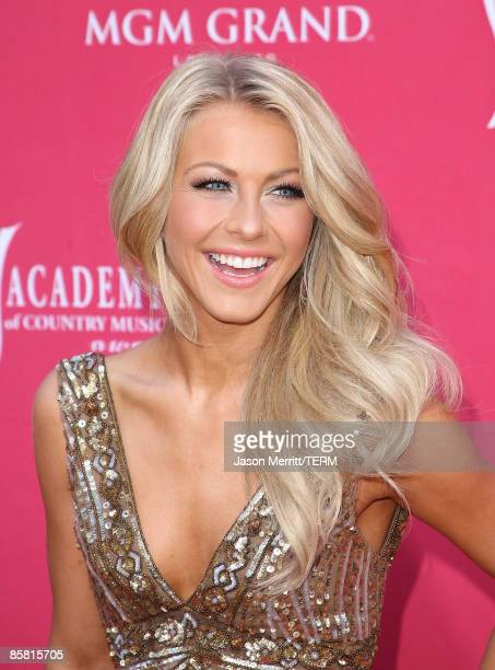 Singer Julianne Hough arrives at the 44th annual Academy Of Country Music Awards held at the MGM Grand on April 5 2009 in Las Vegas Nevada