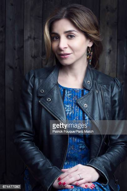 Singer Julie Zenatti is photographed for Paris Match on March 24 2017 in Paris France