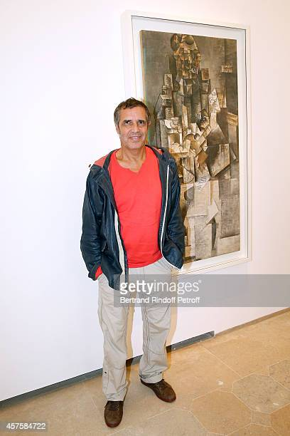Singer Julien Clerc attends the 'Picasso National Museum Paris' Reopening party on October 19 2014 in Paris France