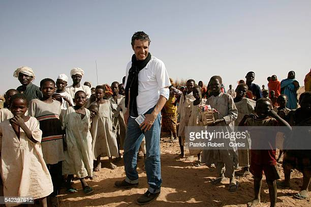 Singer Julien Clerc who was appointed Goodwill Ambassador for Frenchspeaking countries to the United Nations High Commission for Refugees is on a...