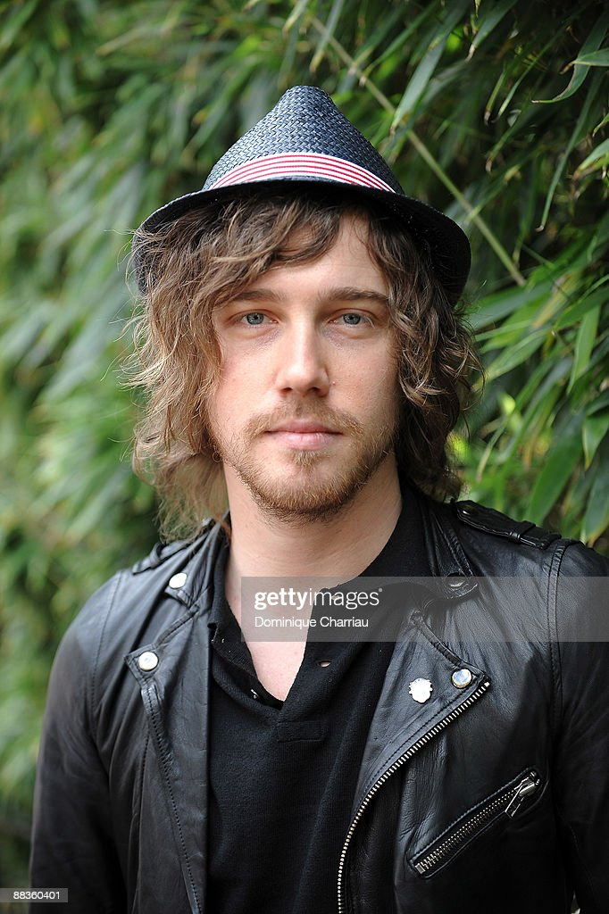 Singer Julien Dore attends The French Open 2009 at Roland Garros Stadium on June 7, 2009 in Paris, France.