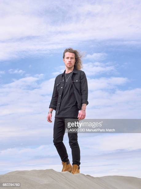 Singer Julien Dore is photographed for Paris Match on March 22 2017 in Le GrauduRoi France