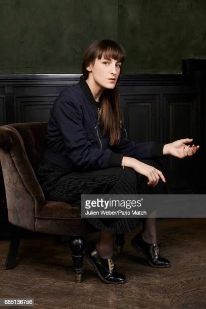 Singer Juliette Armanet is photographed for Paris Match on March 17 2017 in Paris France