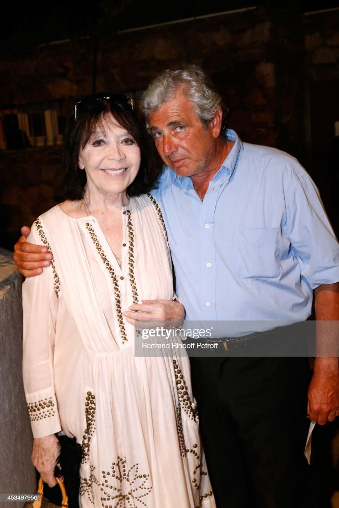 Singer <a gi-track='captionPersonalityLinkClicked' href=/galleries/search?phrase=Juliette+Greco&family=editorial&specificpeople=210869 ng-click='$event.stopPropagation()'>Juliette Greco</a> and Artistic Director of the Festival <a gi-track='captionPersonalityLinkClicked' href=/galleries/search?phrase=Michel+Boujenah&family=editorial&specificpeople=1027167 ng-click='$event.stopPropagation()'>Michel Boujenah</a> attend the 30th Ramatuelle Festival : Day 11 on August 11, 2014 in Ramatuelle, France.