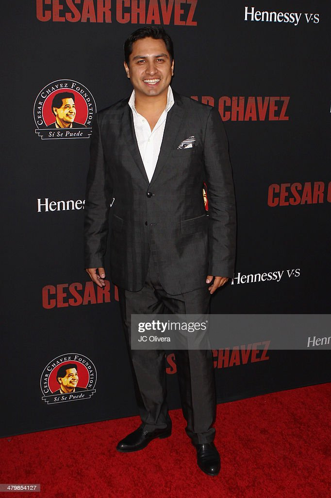 Singer Julion Alvarez attends 'Cesar Chavez' Los Angeles Premiere at TCL Chinese Theatre on March 20, 2014 in Hollywood, California.