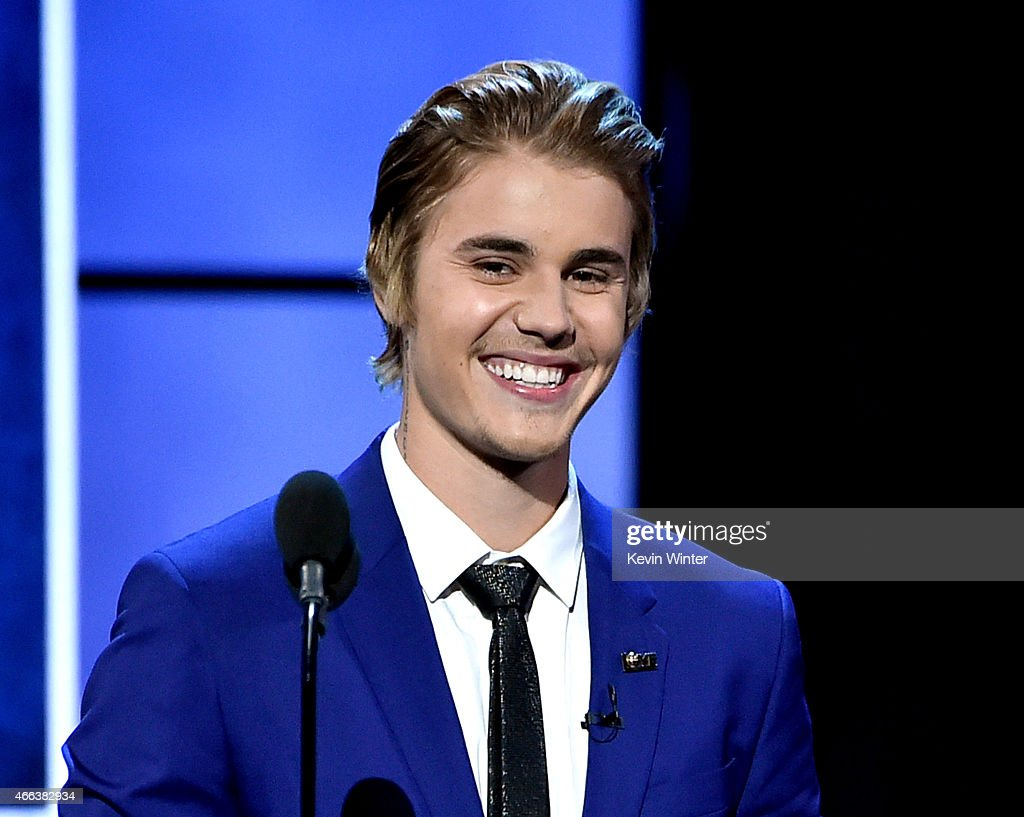 Singer <a gi-track='captionPersonalityLinkClicked' href=/galleries/search?phrase=Justin+Bieber&family=editorial&specificpeople=5780923 ng-click='$event.stopPropagation()'>Justin Bieber</a> appears onstage at the Comedy Central Roast of <a gi-track='captionPersonalityLinkClicked' href=/galleries/search?phrase=Justin+Bieber&family=editorial&specificpeople=5780923 ng-click='$event.stopPropagation()'>Justin Bieber</a> at Sony Studios on March 14, 2015 in Culver City, California.