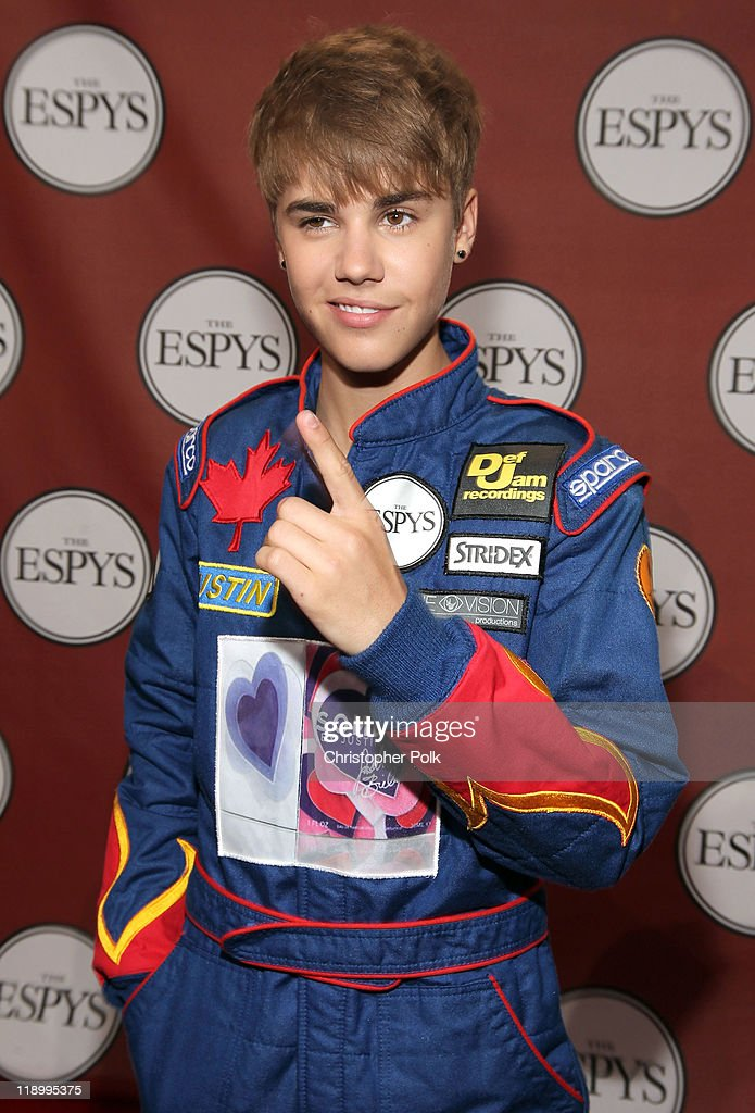 Singer Justin Bieber attends The 2011 ESPY Awards at Nokia Theatre L.A. Live on July 13, 2011 in Los Angeles, California.