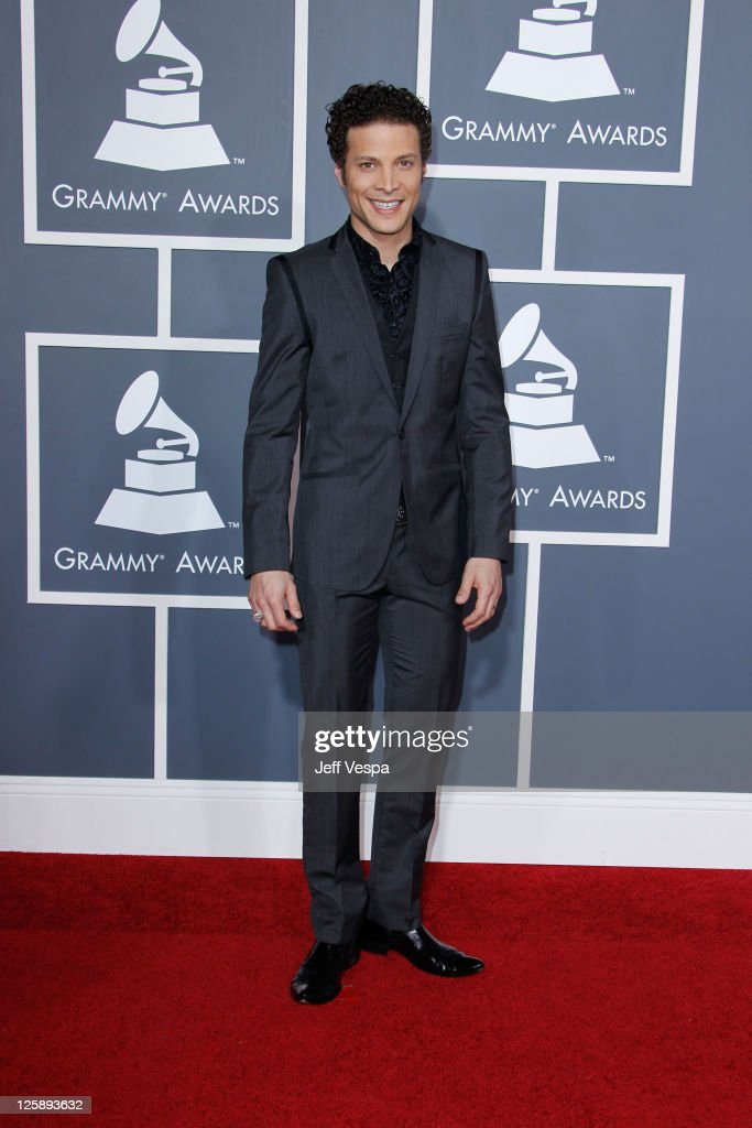 Singer Justin Guarini arrives at The 53rd Annual GRAMMY Awards held at Staples Center on February 13 2011 in Los Angeles California