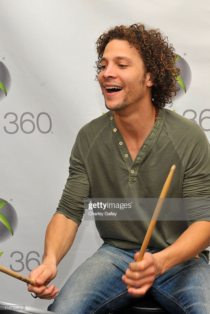 Singer Justin Guarini attends the Xbox 360 Gift Suite In Honor Of The 51st Annual Grammy Awards held at Staples Center on February 7 2009 in Los...