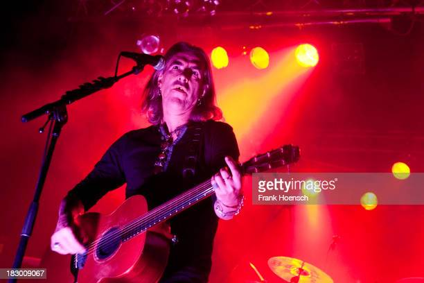Singer Justin Sullivan of New Model Army performs live during a concert at the CClub on October 3 2013 in Berlin Germany