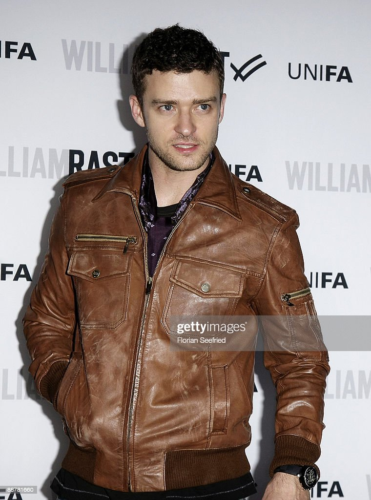Singer <a gi-track='captionPersonalityLinkClicked' href=/galleries/search?phrase=Justin+Timberlake&family=editorial&specificpeople=157482 ng-click='$event.stopPropagation()'>Justin Timberlake</a> attends the William Rast: Bread and Butter party at Silver Wings Club on July 1, 2009 in Berlin, Germany.