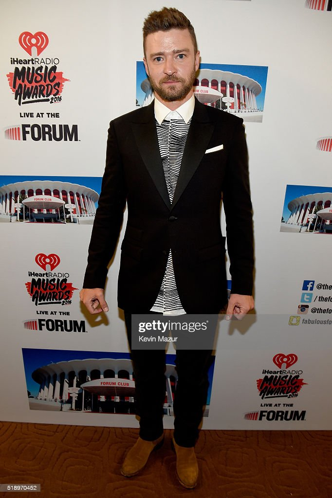 singer-justin-timberlake-poses-backstage-at-the-iheartradio-music-picture-id518970452