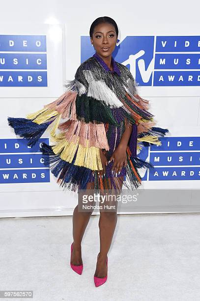 Singer Justine Skye attends the 2016 MTV Video Music Awards at Madison Square Garden on August 28 2016 in New York City