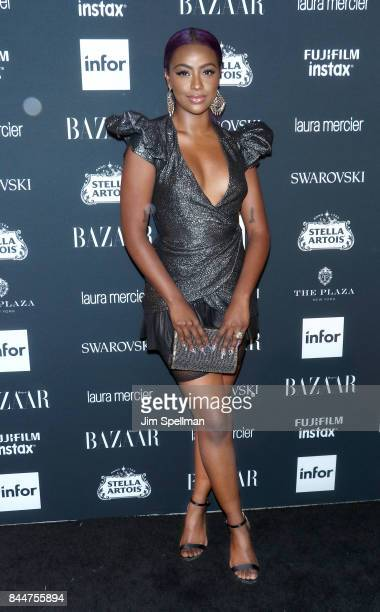 Singer Justine Skye attends the 2017 Harper's Bazaar Icons at The Plaza Hotel on September 8 2017 in New York City