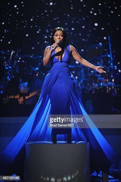 K. Michelle Photos et images de collection | Getty Images K Michelle 2013 Bet Awards